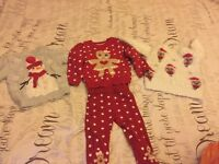 Baby girl Xmas clothing