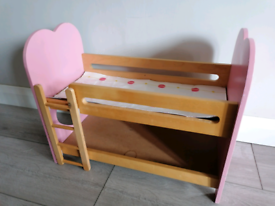 Dolls Bunk beds, solid.