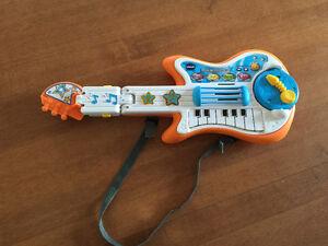 Guitare vtech 3 en 1