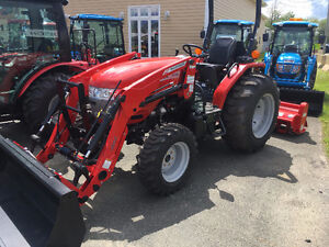 NEW McCORMICK X1.35 4X4 TRACTOR