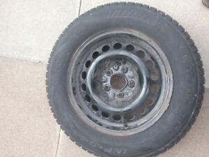 Winter Hero Snow Tires On Rims