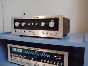 MARANTZ AND PARASOUND