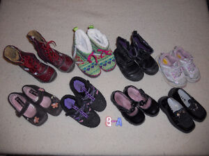 Toddler size 8 girls shoes (8-A)