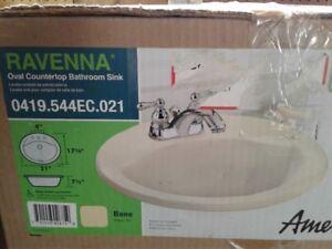 Oval Countertop Bathroom Sink