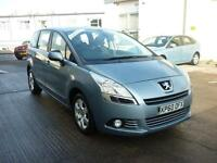 2011 Peugeot 5008 1.6HDi ( 112bhp ) FAP Sport 7 Seater Finance Available