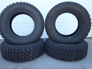 New (Used) Tires BF Goodrich Mud Terrain 255/70 R17