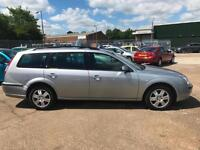 2007 Ford Mondeo 2.0 TDCi Ghia 130 Estate ( SIV ) Silver **ANY PX WELCOME**