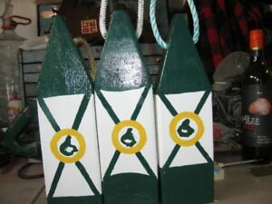 Cape Breton Flag Colors Trap Buoys