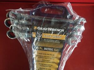 Gearwrench 4 pc Metric set with rack