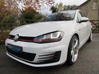 2013 Volkswagen Golf GTi 2.0 Petrol DSG Automatic 5 Door In White