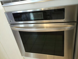 LG LWS 3081ST used wall oven