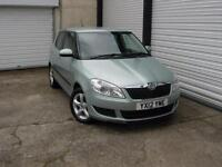 2012 12 Skoda Fabia 1.6TDI CR SE PLUS **Just 1 Owner From New**
