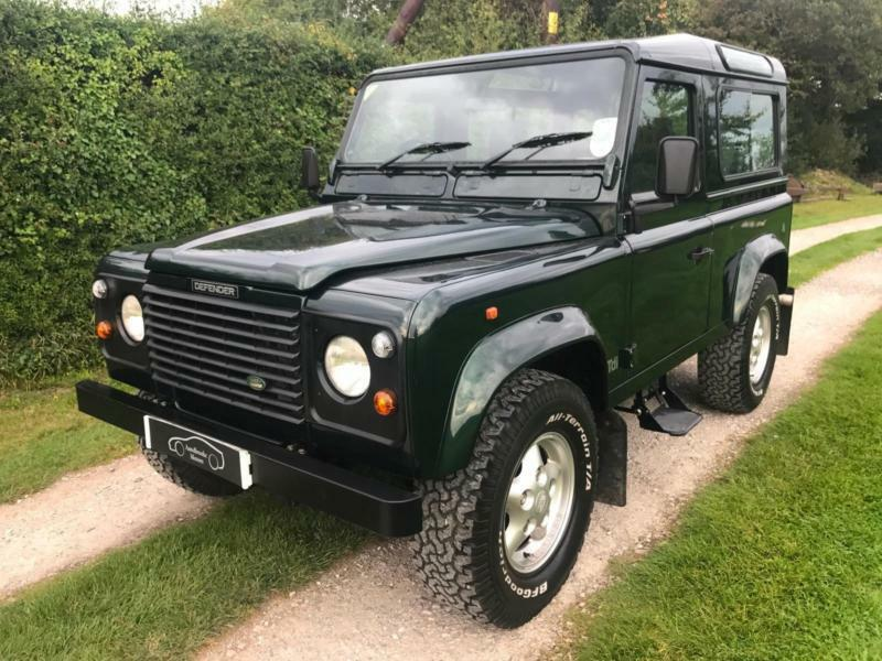 1997 P Land Rover 90 Defender Station Wagon County 7 Seats