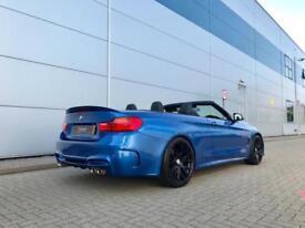 2014 14 reg BMW 420d M Sport Convertible + Autovogue M4 Style Body kit +BIG SPEC