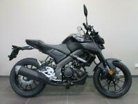 YAMAHA MT-125 ABS 2021 MODEL, 0 MILES, STORM FLUO, ICON BLUE OR TECH BLACK...