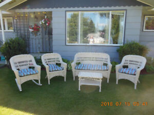 Patio Set 5 Piece All-Weather
