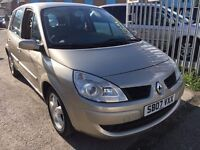 RENAULT SCENIC 1.6 PETROL EXTREME MANUAL 2007 DRIVE NICE