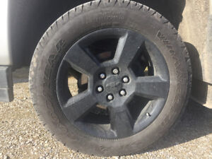 New factory Chevrolet rims and tires