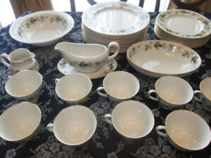 Doulton LARCHMONT China Dinner & Tea Set-BEST OFFER-WILL DELIVER