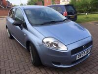 Fiat Grande Punto 2007 1.3 Active 5Dr Blue / 36K Low Mileage / 12 Months MOT