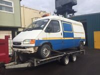 Ford transit mk5 150 lwb export parts + 190 also