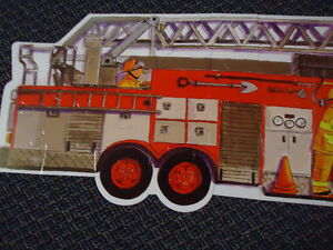 LARGE***FIRE TRUCK****FLOOR Puzzle Kingston Kingston Area image 3