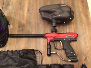 Brand New Condition Paintball Marker and Gear