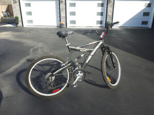 "ADULT BIKE 26"" tire Full suspension Super cycle Mountain Bike PU"