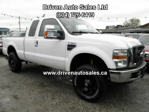 2008 Ford F-350 Diesel Super Cab 4x4 Low km Pickup Truck