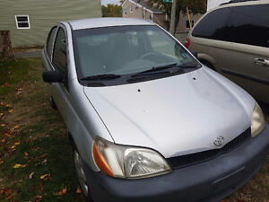 2001 Toyota Echo Sedan
