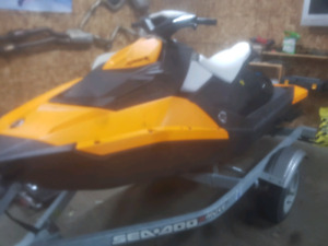 2015 sea doo spark 90 hp 2 up