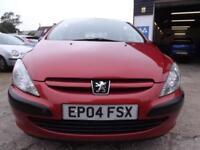 Peugeot 307 1.4 16v 2004 Style 97000 MILES