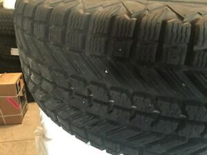 265/70/16 firestone winterforce tires on Toyota rims