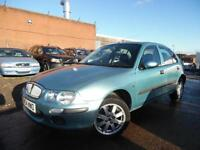 ROVER 25 IMPRESSION 1.4 PETROL 5 DOOR HATCHBACK