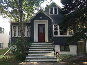 Great Whyte Ave 2 bedroom basement suite available May 1!