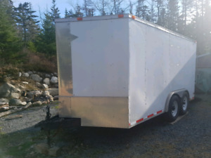 16×8 V-nose 2013 Diamond  cargo trailer