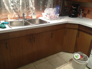 before and after kitchen cabinet