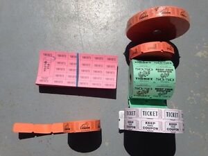 Stag and doe tickets + supplies