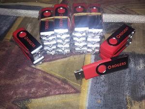 27 Roger's USB sticks $15