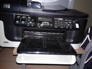 printer hardly used and fax and scanner