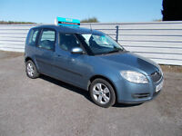 SKODA ROOMSTER 1.9TDI 2 2 OWNERS, 78000 SERVICE HISTORY