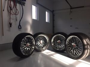 Victor equipment rims and tires custom for Porsche