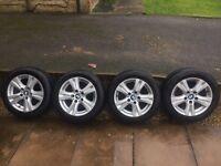BMW 1/3 Series Alloy Wheels + Tyres (2009-2011)