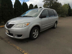 Priced For Quick Sale - 2005 Mazda MPV Minivan, - $3,250.00