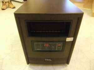 Classic Portable Infrared Heater 1500 Watts