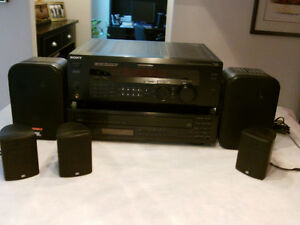 RECEIVER - Sony Digital Audio Control Centre w/speakers