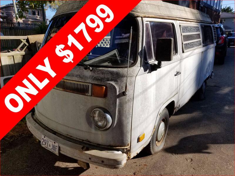 1975 Volkswagen Westfalia Camper Van