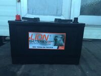 BIG LION BATTERY FOR SALE WITH WARRANTY 1 YEAR 664 105 ah EN 760 CCA