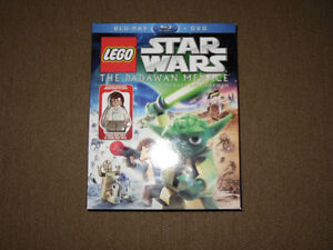 Lego Star Wars Movies and Minifigure