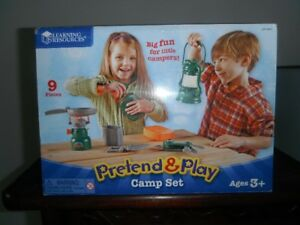 Pretend and Play camp set *** BRAND NEW ***